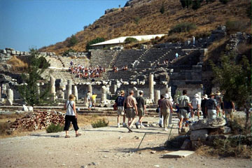 The Odeum in ancient Ephesus