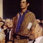 """Freedom of Speech,"" by Normal Rockwell"