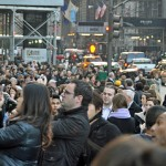 Black Friday crowd waiting to get into the Apple Store on 5th Ave. in New York. Photo from JoeInQueens via Flickr.