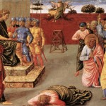 "Benozzo Gozzoli, ""The Fall of Simon Magus,"" 1461-1462"