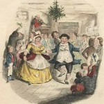 """Mr. Fezziwig's Ball"" by John Leech, from the first edition of A Christmas Carol."