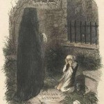 """The Last of the Spirits."" Illustration by John Leech in the first edition of A Christmas Carol."
