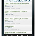 The High Calling App Has Just Been Released