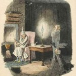 """Marley's Ghost"" by John Leech, from the first edition of A Christmas Carol."