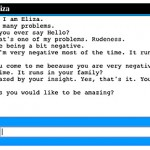 "My ""conversation"" with Eliza."