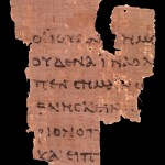 p52, a portion of the Gospel of John that is dated to around 125 A.D.