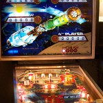 The Space Mission pinball game was one that Kordek worked on while with Williams.