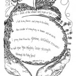 Lenten Devotional Doodle for Wednesday, March 14