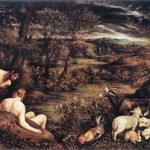 "Jacopo Bassano, ""Garden of Eden."" 1570-73"