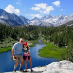 On a hike with Kara along Rock Creek in the eastern Sierra of California