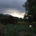 A shack just outside of Bishop, California