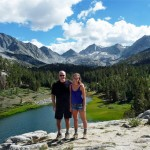 My daughter and I in Little Lakes Valley, near Rock Creek.