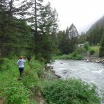 Hiking next to the Gallatin River in south central Montana, about an hour away from Bozeman