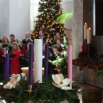 The Advent Wreath at Irvine Presbyterian Church, c. 2004