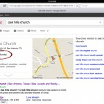 Yes, Even Google Can Mess Up Big Time! Oak Hills Church Actually Does Worship on Sunday