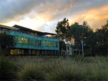 Library of Fuller Seminary in Pasadena, California