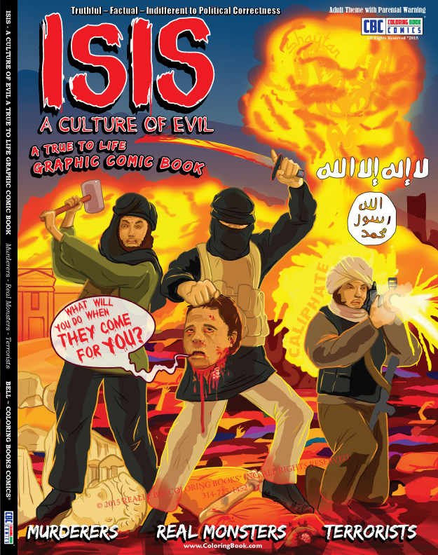 ISIS-Comic-Book_front Cover