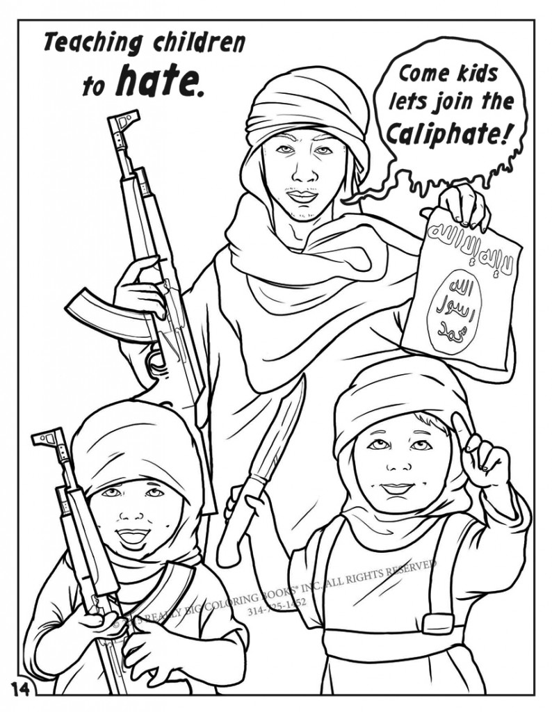 ISIS Comic Children Hate-14