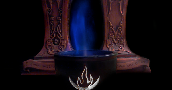 Image Credit: Mat Auryn (Spirit Flame from one of my altars)
