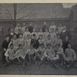 The 1900 Manhattan College Baseball Team.