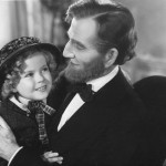 "McGlynn with Shirley Temple in ""The Littlest Rebel"" (1935)."