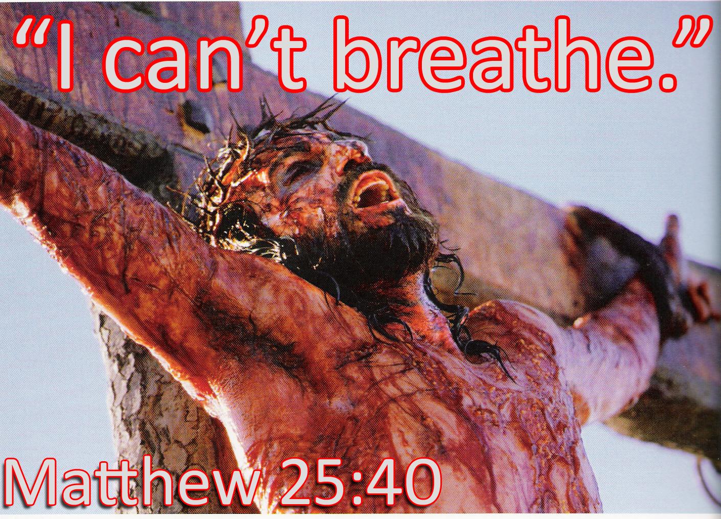 how jesus saves through michael brown and eric garner