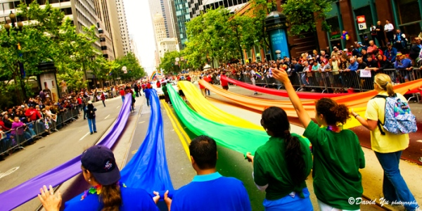 """LGBT Pride Parade San Francisco 2008,"" David Yu, Flickr C.C."
