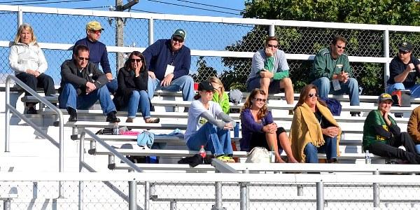 """""""Parent Fans at Glen Ellyn Golden Eagles,"""" Jim Larrison, Flickr C.C."""