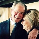 Just remember that Dubya and Hillary belong to the same church