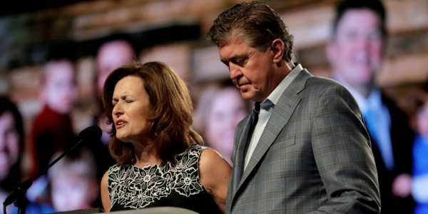 SBC President Steve Gaines and his wife Donna