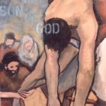 Jesus' body is removed from the cross (Anna Kocher, 2006)