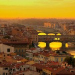 Florence, Italy at sunset (via romanticplaces.tumblr.com)