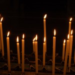 """Light your candles quietly, such candles as you possess, wherever you are"" -Alfred Delp"
