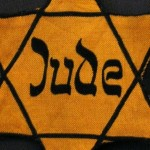 Holocaust Star of David patch--cropped