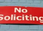 5 Reasons Why I Needed a No Soliciting Sign for Hospital Clergy