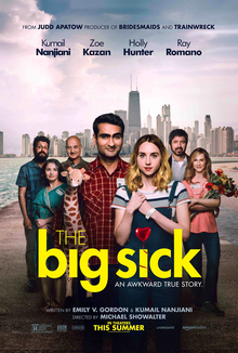 It doesn't take a VERY big sick to love the hilarious and deep comedy, 'The Big Sick.' But it doesn't hurt.