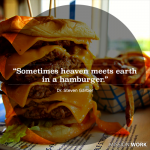 "Sometimes heaven meets earth in a hamburger: more from ""Come and See"""