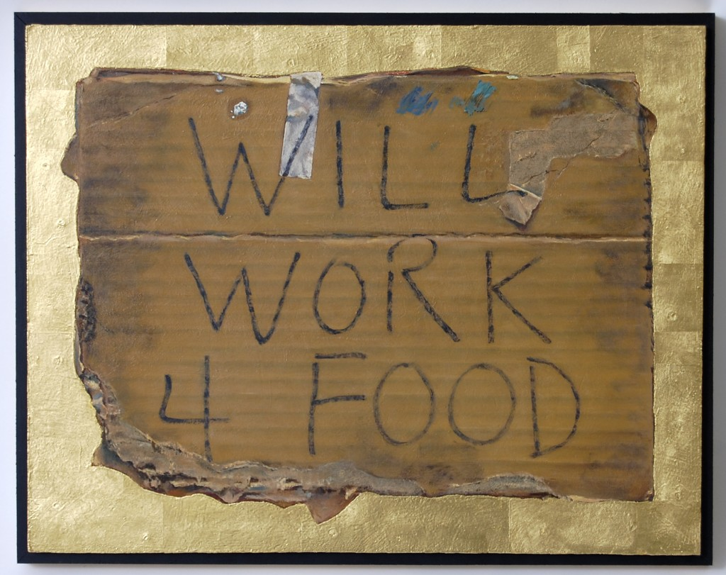 Will work 4 food. Will you?