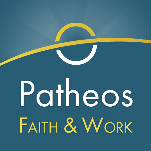 Patheos Faith and Work Logo