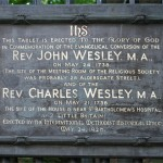 The date that changed John Wesley, and a lot more people too: Happy #Aldersgate !