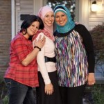 Three sisters featured in All-American Muslim. Adam Rose for TLC.