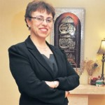 New Libyan Health Minister Dr Fatima Hamroush, photo from the Irish Independent