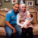 All-American Muslim's Nader and Nawal, with their baby Naseem. Via TLC.