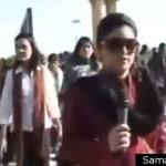 Maya Khan on Samaa TV. Photo via Huffington Post.