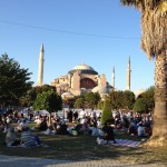 Iftar at Ayasofya