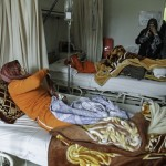 Women injured in the fighting in Homs. Image via Women News Network.