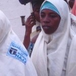 Nigerian women on hajj. Image via BBC News.