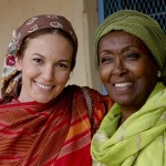 Edna Adan (right), pictured with Diane Lane. Via Half the Sky.