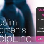 An ad for the Muslim Women's Helpline.