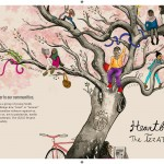 Cover of Heartbeats: The Izzat Project. Artwork by Somya Singh.